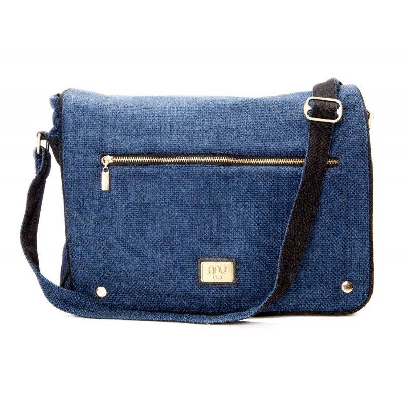 5d2b5d5ca832 Messenger Bag Aju - Navy Blue